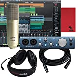 Presonus Audiobox iTwo 24 Bit Podcasting Recording Studio Bundle W/ Mic & Cable