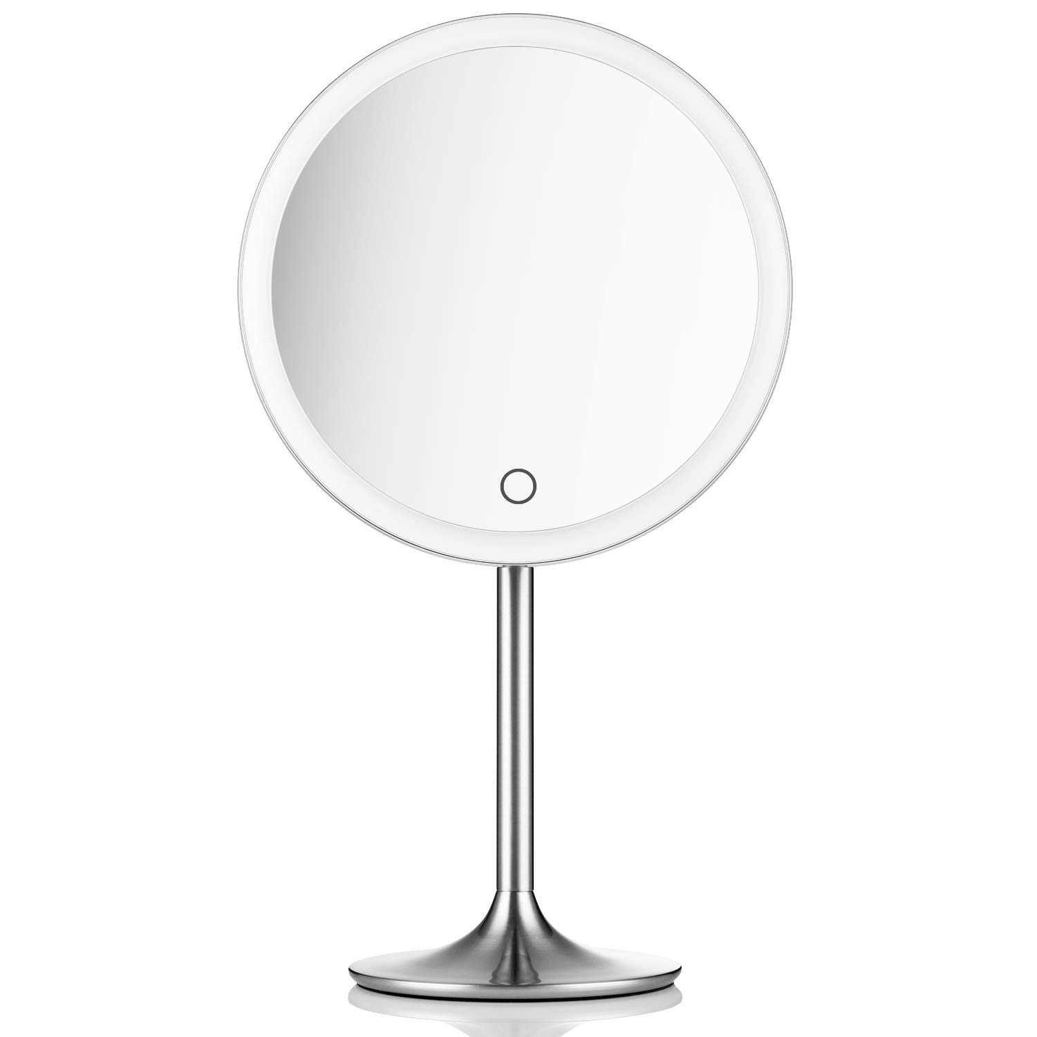 Lighted Makeup Mirror.Miusco 9 Lighted Makeup Mirror Pro 5x 10x Magnification Ultra Bright Hd Lighting System