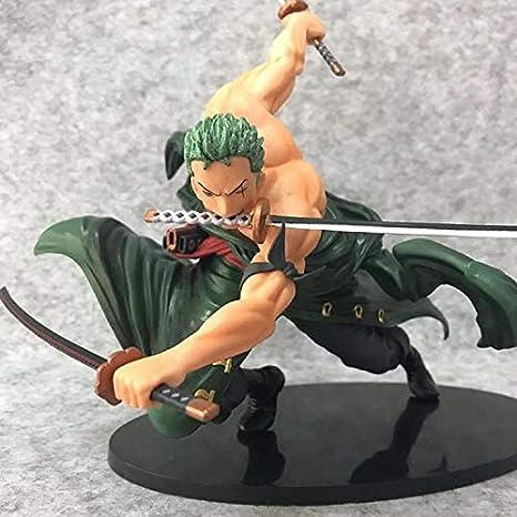 Wsjdmm One Piece Roronoa Zoro Nuevo Mundo de pie Postura ...