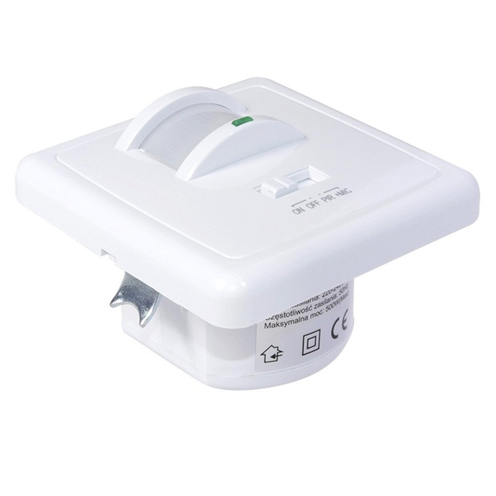 Maclean MCE18/PIR motion sensor 160//° Motion Sensor PIR Wall Mount Sound and Motion Activated
