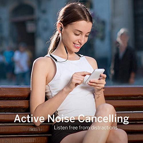 TaoTronics Active Noise Cancelling Neckband Bluetooth Headphones ANC Bluetooth 50 Wireless