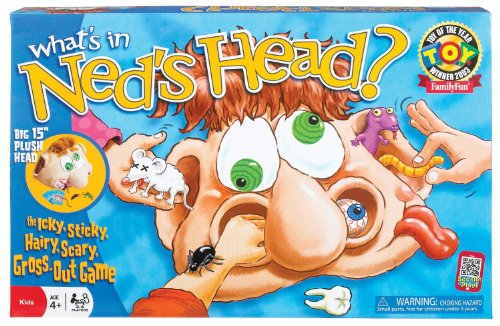 What's in Neds Head Board Game - Includes 5 Bonus Dice!