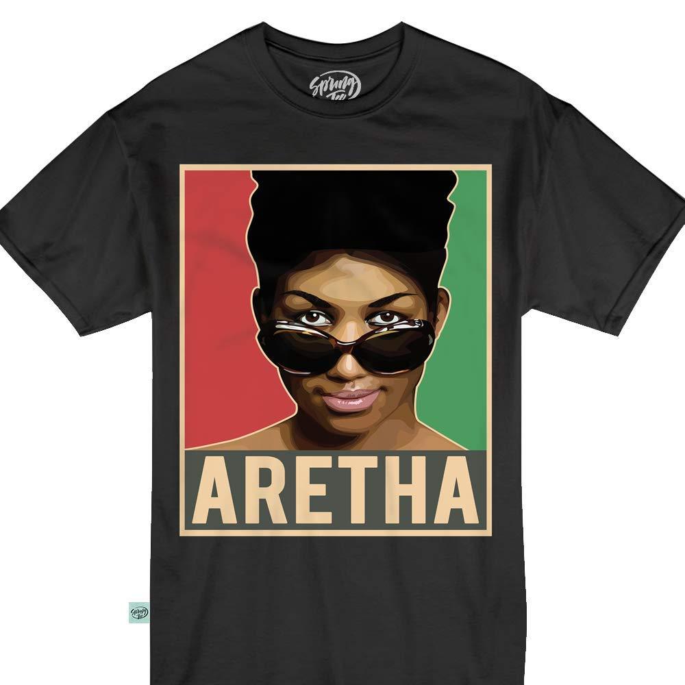 Aretha We Love You Queen Soul Tshirt