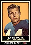 1961 Topps Football 87 Kyle Rote Excellent (5 out of 10) by Mickeys Cards