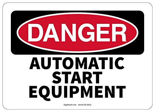 IGN AUTOMATIC START EQUIPMENT (Danger Automatic Start Equipment)