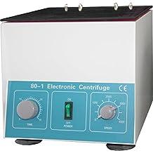 HFS (R) New Desktop Electric Centrifuge Lab (Timer 0-30min) Speed: 0-4000 Rpm, Cap:20ml X 6 Tube (80-1) 110v/60hz