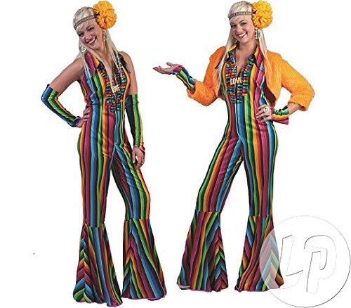 Mercado Jumpsuit Hippie Costume - Womens -