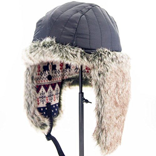 """Duolaimi Fashion Winter Hats for Adult (L:Head Circumference 23.3 """" or 59 CM, C)"""