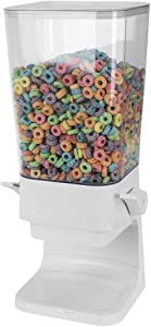 Home Basics Air Tight Easy Pour Countertop Plastic Cereal Dispenser