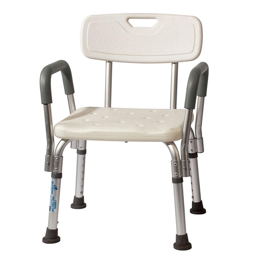 【サイズ交換OK】 アルミニウム合金バス椅子古い人シャワースツールバスルームスツールシャワーチェア妊婦バススツール   B07DMWS7PY, 三浦市:74bd9e92 --- mailx.ecomustangtreks.com