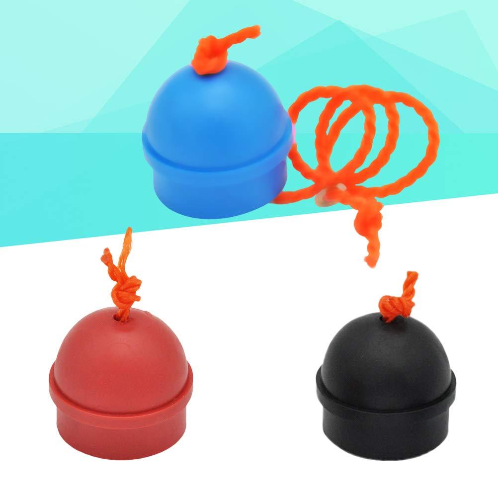 LIOOBO Taco de Billar de Goma de Billar de Color Mezclador de Tiza de Billar de 3 Piezas Taco de Billar