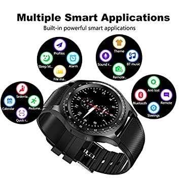 Goops Aipker L9 Smartwatch - Call Support, Bluetooth, Sim Card Slot, Sd  Card Slot, What's App, Facebook, Twitter, Browser, Camera, Pedometer,