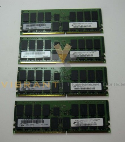 IBM 12R9574 4496 8/16GB (4x 4GB) 276-Pin 533MHz CUoD DDR2 SDRAM DIMMs pSeries