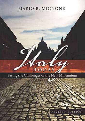 Italy Today: Facing the Challenges of the New Millennium (Studies in Modern European - New Garden Jersey State Mall