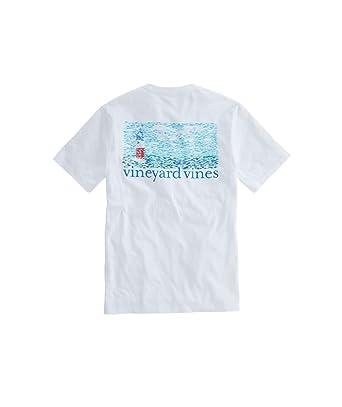 3aca07ba Vineyard Vines Fish Lighthouse Pocket T-Shirt (X-Small) | Amazon.com