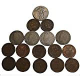 1 Ultimate Collection of Old Coins. 2 Indian Head