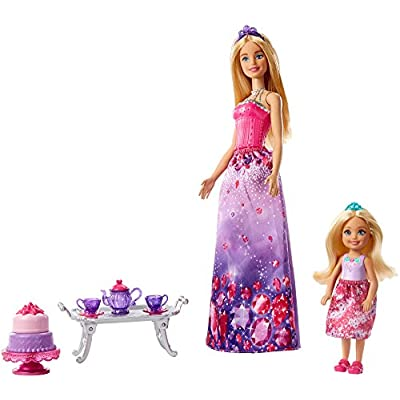 Barbie Dreamtopia Dolls and Tea Party Playset: Toys & Games