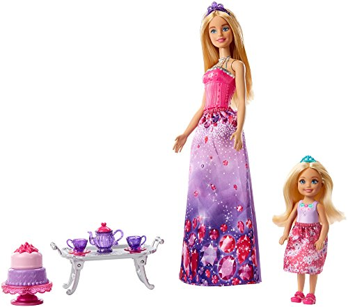 Barbie Dreamtopia Dolls and Tea Party Playset