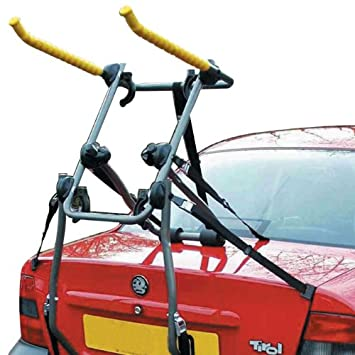 PROGEN TOP QUALITY UNIVERSAL REAR MOUNT 3 BICYCLE CARRIER CAR RACK BIKE CYCLE