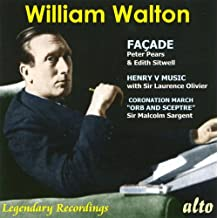 William Walton: Façade / Music From Henry V / Orb And Sceptre