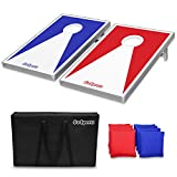 GoSports Cornhole Set with Aluminum Frame