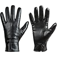 Womens Winter Leather Touchscreen Texting Warm Driving Lambskin Gloves 100% Pure