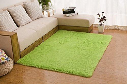 HOMEE Carpet-Mat Modern Living Room Coffee Table Rectangular Waterproof Foot Pad,Purple,4060Cm,4060Cm,Green by HOMEE