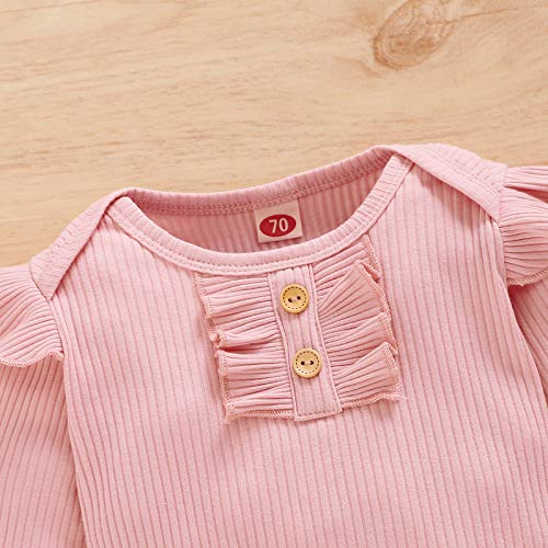 Newborn Baby Boy Girl Clothes Infant Long Sleeve Hoodie Romper Outfits Set with Headband
