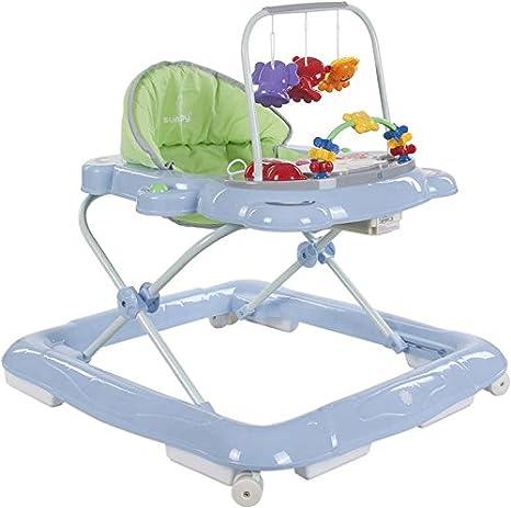 Sun Baby Kitty - Andador para bebé, color azul y verde ...