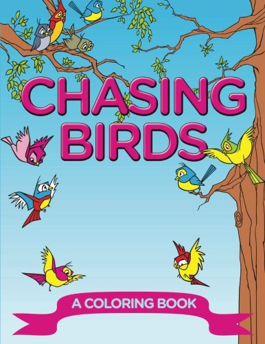 Chasing Birds Coloring Book Jupiter