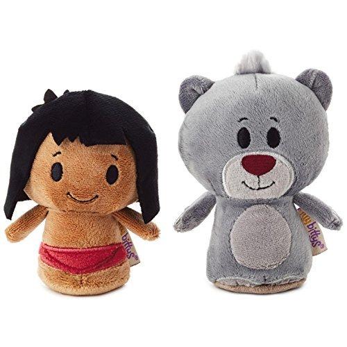 itty bittys Mowgli and Baloo Stuffed Animals, Set of 2