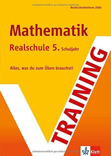 Training Mathematik 5. Klasse Realschule