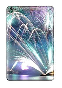 Fashionable Style Case Cover Skin For Ipad Mini/mini 2- Cool New Year Fireworks