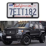 LivTee Black Silicone License Plate