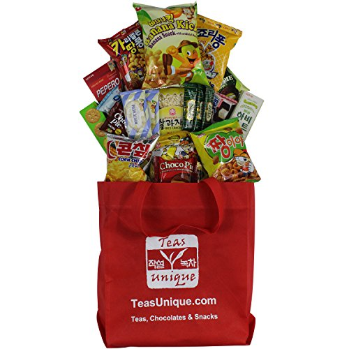 Korean Premium Snack Food Assortment, Popular Sweet, Savory and Spicy Treats