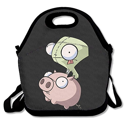(A Invader Zim Animated Television Series Funny Lunch Tote Lunch Bag)