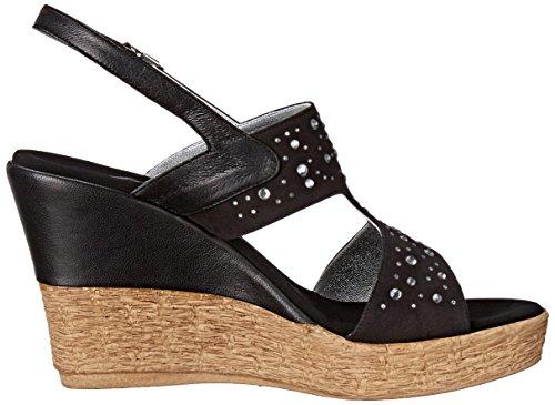 Onex Women's Napa Wedge Sandal Black sale pick a best d8XBXhEQ