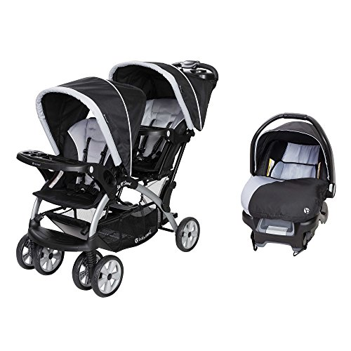 Prams For Twins With Car Seats - 8