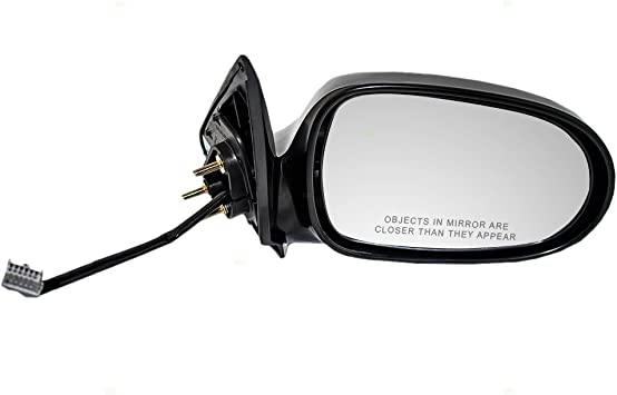 TYC Power Non-Heat Black Rear View Mirror Right Passenger Side For 00-06 Sentra