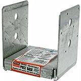 Simpson Strong Tie ABU66Z ZMAX Galvanized 12-Gauge 6x6 Adjustable Post Base 10-per box
