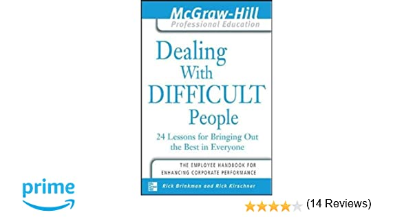 Counting Number worksheets inferring character traits worksheets : Dealing with Difficult People : 24 lessons for Bringing Out the ...