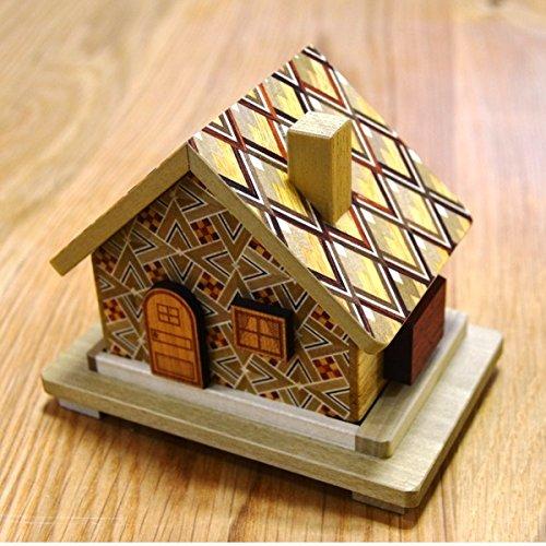 (House 7 Steps - Japanese Puzzle Box)