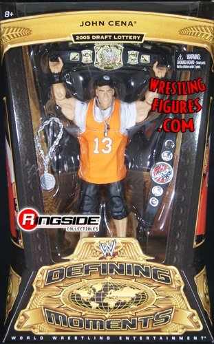 JOHN CENA - WWE DEFINING MOMENTS 5 WWE TOY WRESTLING ACTION FIGURE by Prannoi