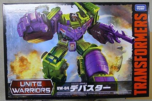TAKARA TOMY Devastator Transformers Unite Warriors UW-04 Figure (Transformers Toy Devastator)