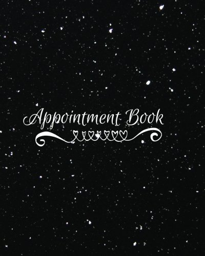 Appointment Book: 2 Column Daily Appointment Organizer Book for Professionals | All Businesses | Beauty Parlours | Salon | Spas | Cosmetologist | ... Paperback (Appointment Books) (Volume 6)