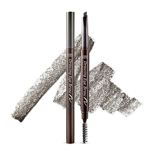 ETUDE HOUSE Drawing Eye Brow 0.25g (#2 Grey Brown) (Best Japanese Brow Pencil)