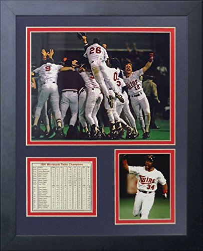 11x14 1991 MINNESOTA TWINS WORLD SERIES CHAMPIONS PUCKETT TEAM PHOTO -