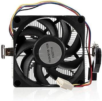 Disipador CPU ventilador para AMD Socket AM2 AM3 4pins 1A02C3W00 ...