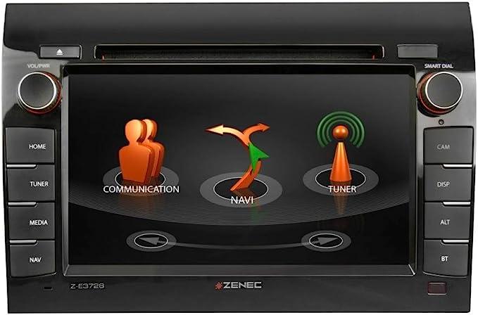 Zenec Z E3726 2 Din Autoradio Mit Navi Fiat Ducato Citroën Jumper Peugeot Boxer Navigation