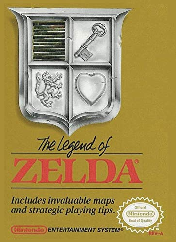 THE LEGEND OF ZELDA NES NINTENDO